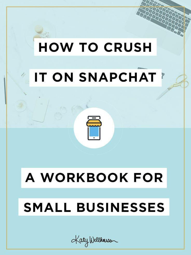 FREE workbook! Snapchat is so different than other social media platforms. Get a step-by-step walkthrough on how to use it for your small business. | Social Media Marketing Tips