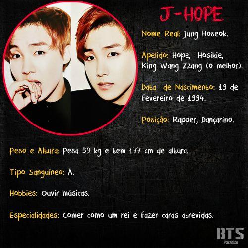 Biografia - J-Hope