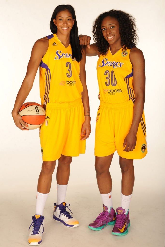 LA's remarkable duo of Candace Parker (3) and Nnemkadi 'Nneka' Ogwumike (30) led the Sparks to the 2016 WNBA title. By Michael Robers...