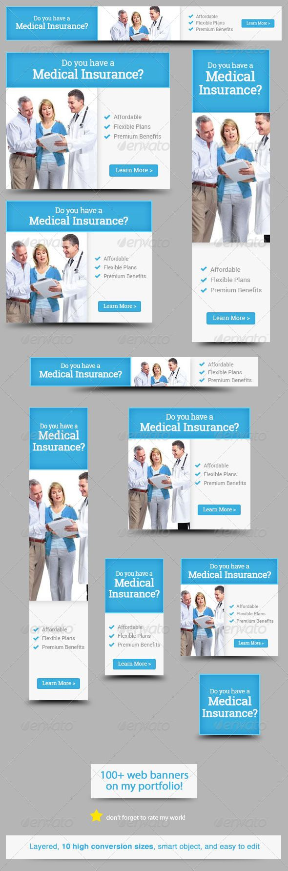 Medical Insurance Web Banner Design Template PSD | Buy and Download: http://graphicriver.net/item/medical-insurance-web-banner-design/5767479?WT.ac=category_thumb&WT.z_author=admiral_adictus&ref=ksioks
