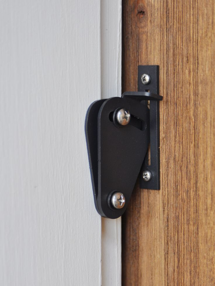 Need a little privacy? Privacy locks can be added to your BarnCraft Barn Door for areas you need locked.