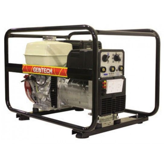 Get the best of both worlds with this welder generator from Gentech. Powered by the legendary Honda GX390 petrol engine, this welder generator delivers 7kVA power and 200 Amps of welding power in a convenient and robust package for every job on the worksite.