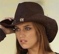 Женская ковбойская шляпа