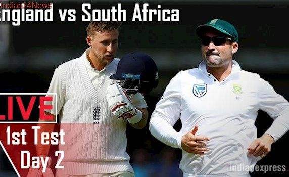 England vs South Africa Live Cricket Score 1st Test Day 2, Lord's: Hosts eye big lead