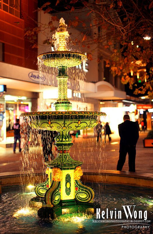 ˚Fountain In Rundle Mall - Australia
