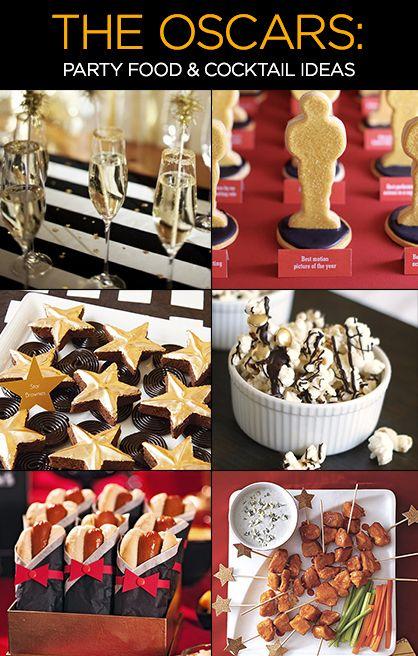 The Oscars 2014 Party Food Cocktail Ideas