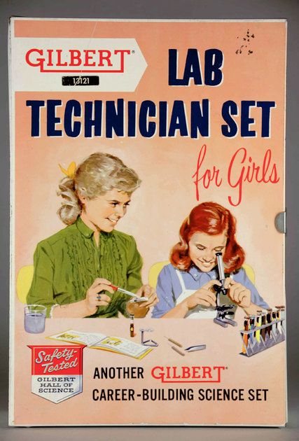 A brief history of chemistry sets: Utilitarian tools of the trade made way for…