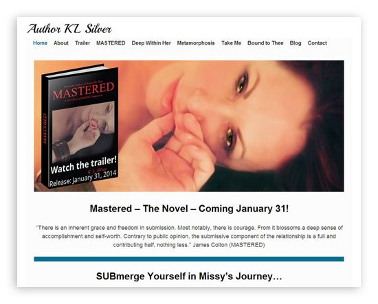 Author KL Silver -  Another fantastic site produced in cooperation with The SilverGenes Group.