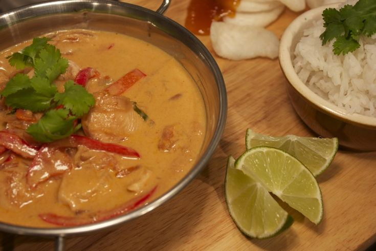 Curry rosso thailandese