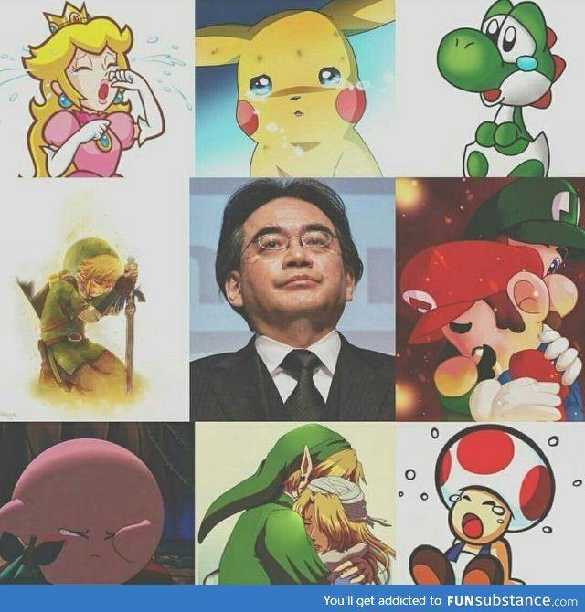 Goodbye Mr President, you will be missed. R. I. P. Satoru Iwata