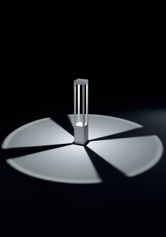 York - Dls LED pal 5W gemaakt van verkleurd gegoten aluminium