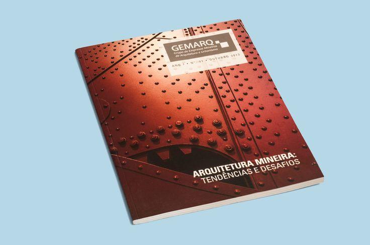 Capa do anuário Gemarq 2013 - Arquitetura Mineira: Tendências e Desafios