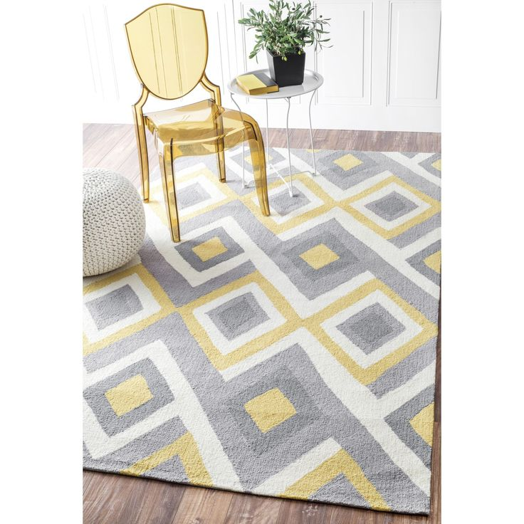 Purple Triangle Rug: 1000+ Ideas About Blue Yellow Grey On Pinterest