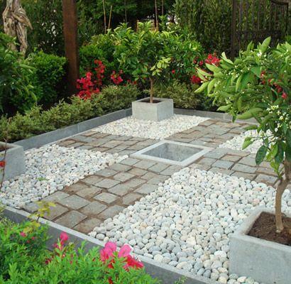 La cantera adoquines de piedras naturales plantas y for Decoracion de jardines y patios con piedras