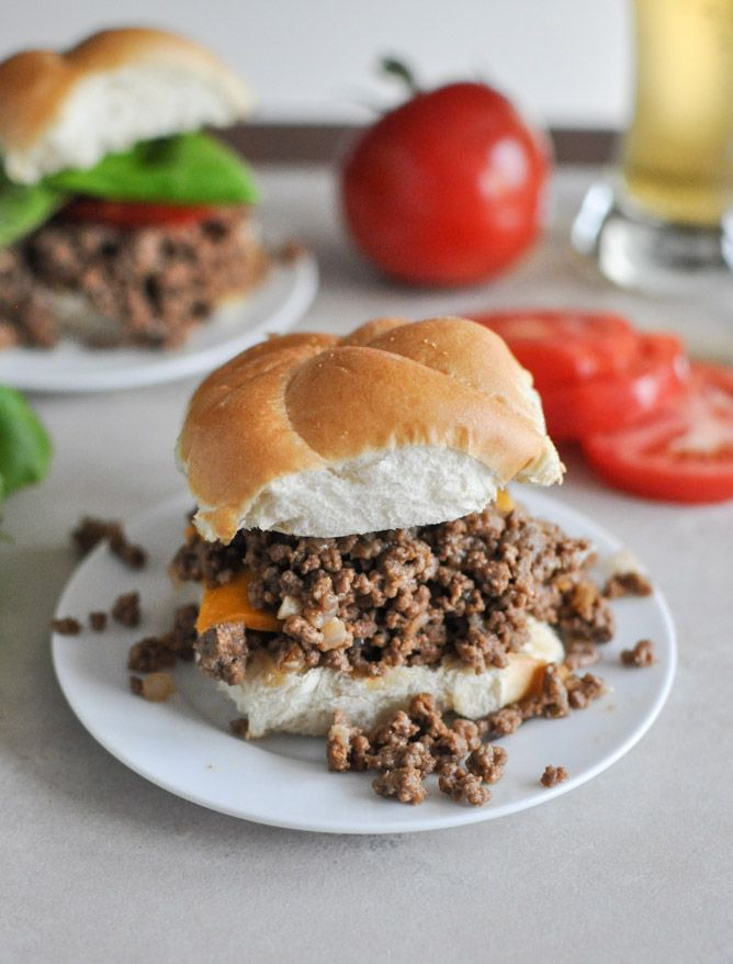 Crockpot Cheeseburgers - So Yummy!