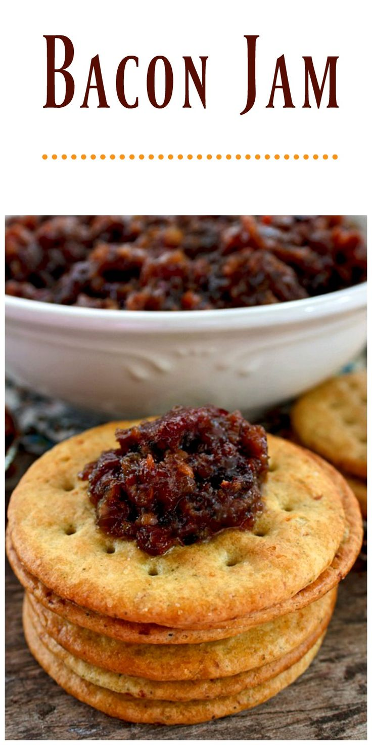 Bacon Jam has a delicious unique flavor that will compliment many foods as well as being fantastic all by it's self as an appetizer.