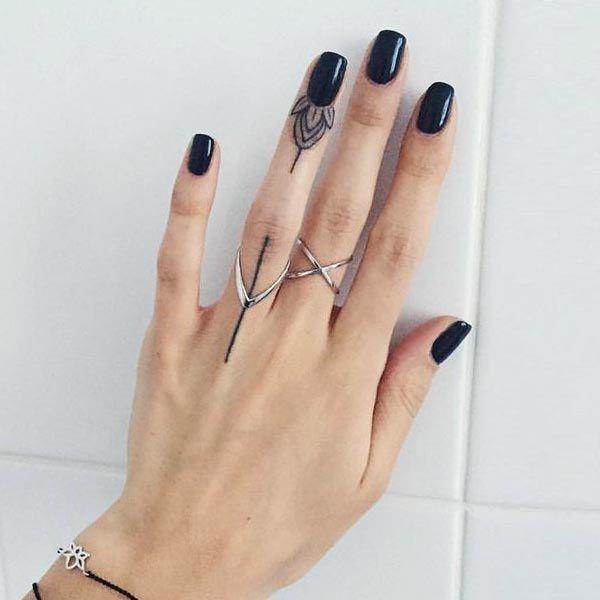 finger tattoo - Pesquisa Google