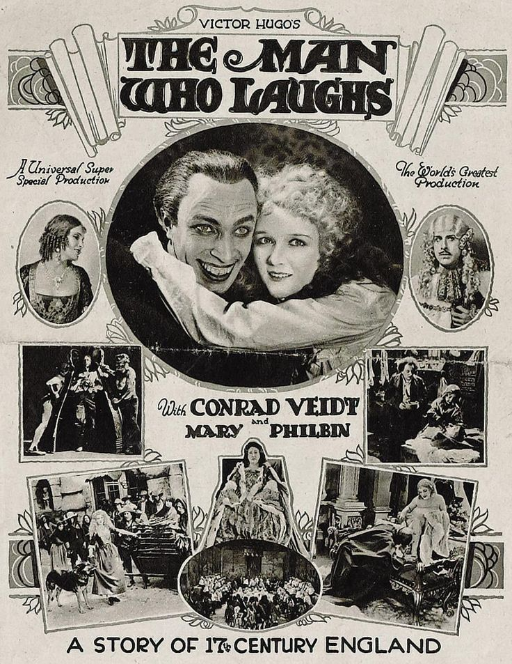 spicyhorror:  The Man Who Laughs (1928)