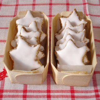 Petites étoiles de Noël à la cannelle - Zimtsterne