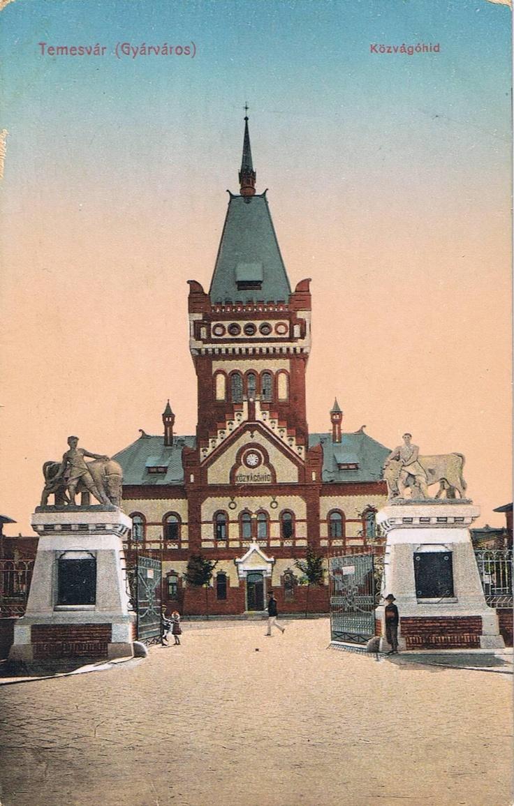 Abatorul comunal 1906