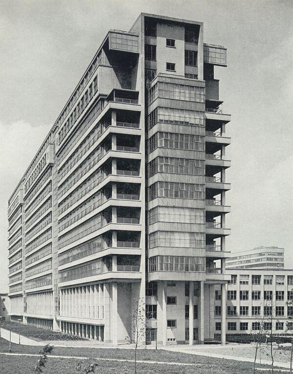 "Hospital ""Dijkzicht"" (1952-60) in Rotterdam, the Netherlands, by Aad Viergever & B.M. den Hollander"