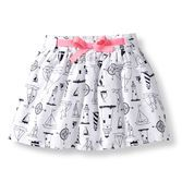 Say hello to this sweet skirt. Allover fun print is so fun for summer and included diaper cover keeps her covered.