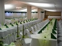 Svatební dekorace zelená