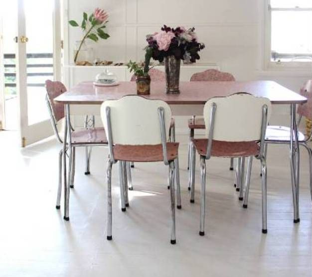 beautiful vintage kitchen table and chairs set