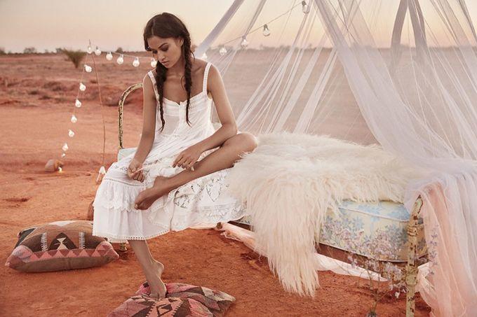 Шанина Шейк в лукбуке Spell & the Gypsy Collective (Интернет-журнал ETODAY)