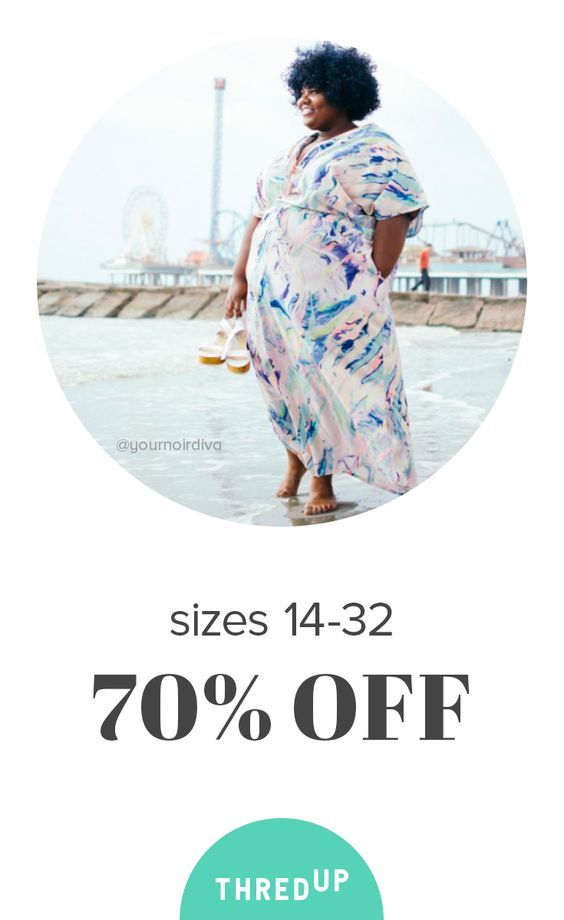 Shop thredUP, the world's largest online thrift store! thredUP has something for everyone with over 25,000 brands; whether you're looking for plus, maternity, petite, designer, kids, or all of the above, we've got you covered. Sign up now for 40% off your first purchase!