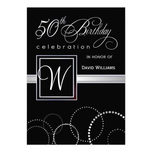 24 best images about 50Th Birthday Invitation Templates – 50th Birthday Party Invitations Templates