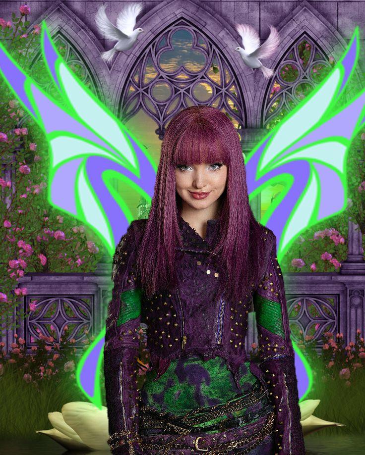 Dark Fairy Mal Descendants Dove Cameron