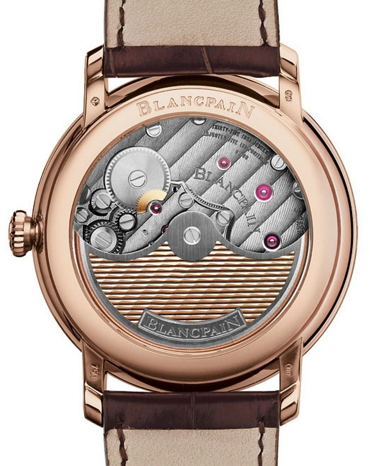 Blancpain Villeret 2014 Watch With Enamel Dial And 8 Days Of Power   watch releases