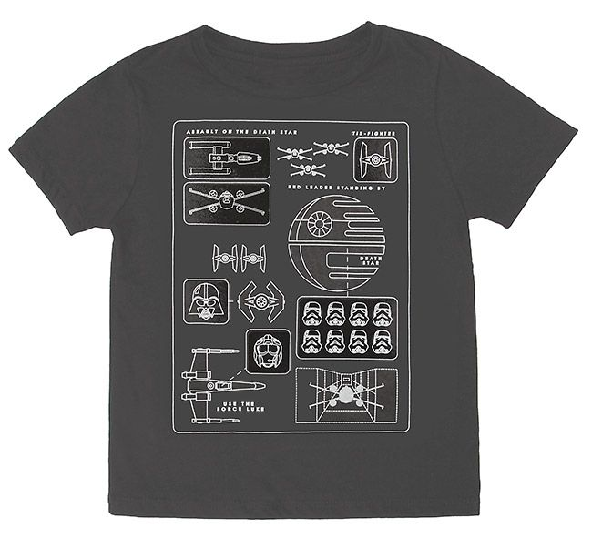 Death Star Pictogram Kids' Tee - Exclusive