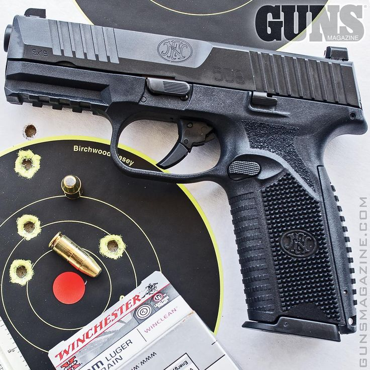 Ready to serve. The FN 509 is not just another striker-fired 9mm service pistol. More in the April 2018 issue of GUNS Magazine.  #fn509 #fnamerica #igmilitia #strikerfired #righttobeararms #2a #gunstagram #pewpewlife