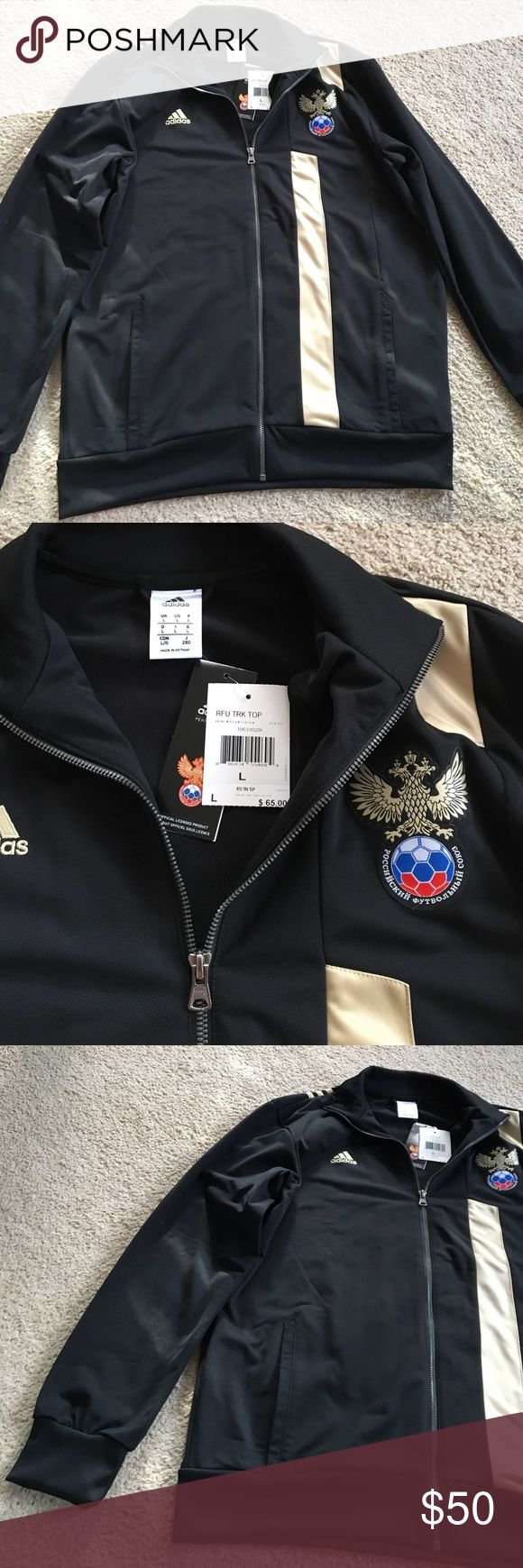 adidas soccer zip up womens brand new with tags size l originally 65