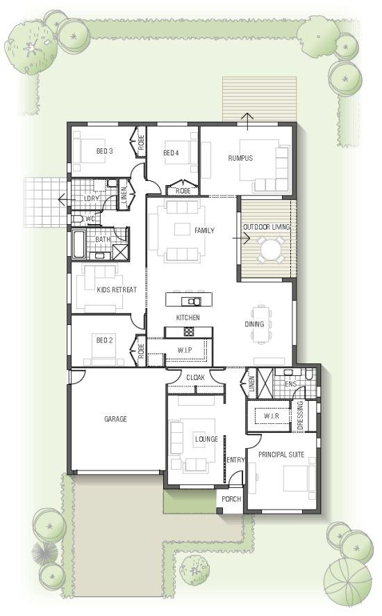 Best 25 australian house plans ideas on pinterest 5 for 7 bedroom house plans australia