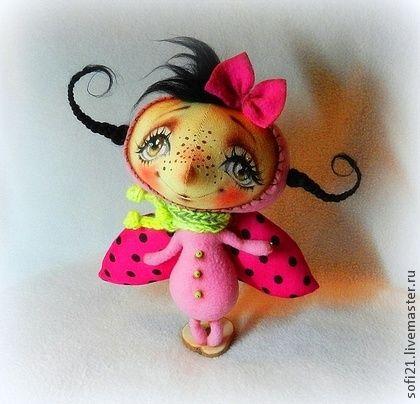 Коллекционные куклы ручной работы. Ярмарка Мастеров - ручная работа Мадмуазель Мухина-Цокотухина). Handmade.