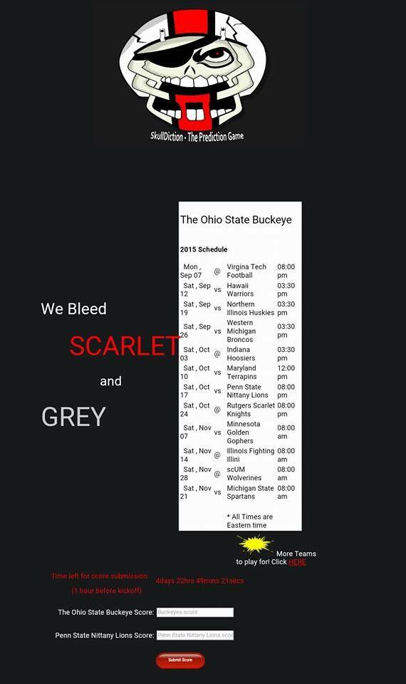 OSU Schedule