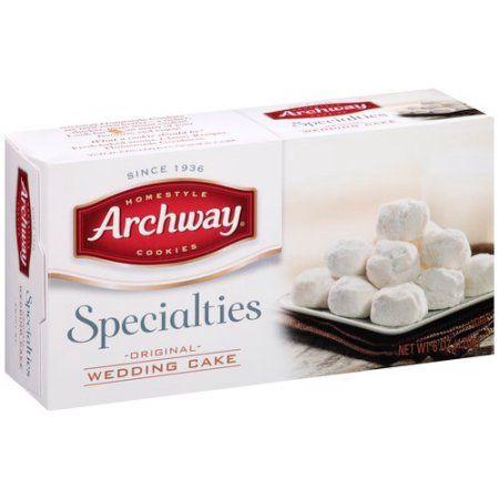 Shop Low Prices on: Archway Specialties Original Wedding Cake Cookies, 6 oz : Snacks, Cookies & Chips