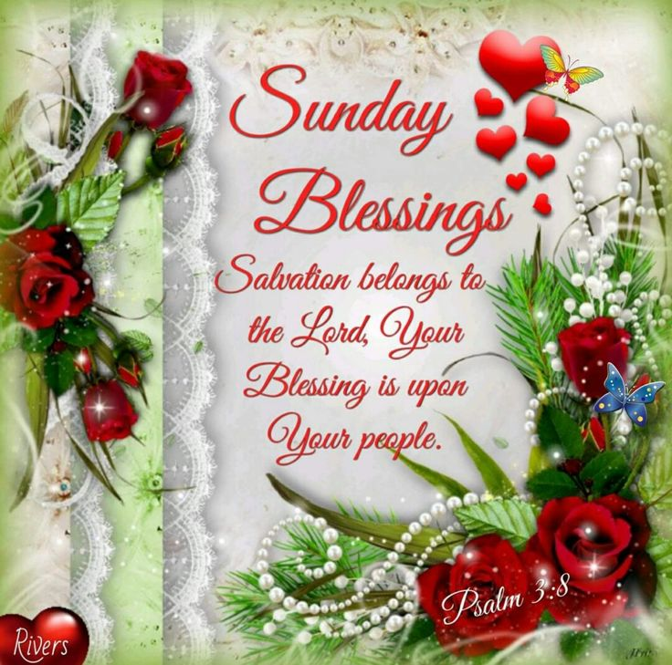 """Phillippians 4 6 7 Cast Your Cares Upon The: Sunday Blessings (Psalm 3:8) """"Salvation Belongs To The"""
