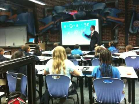 Ron Clark teaching algebra.  WOW!http://youtu.be/gOy7tK2uDiI
