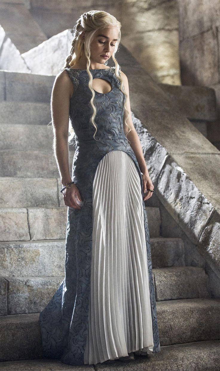 Дейнерис Таргариен платье 4 сезон костюмы Игры Престолов