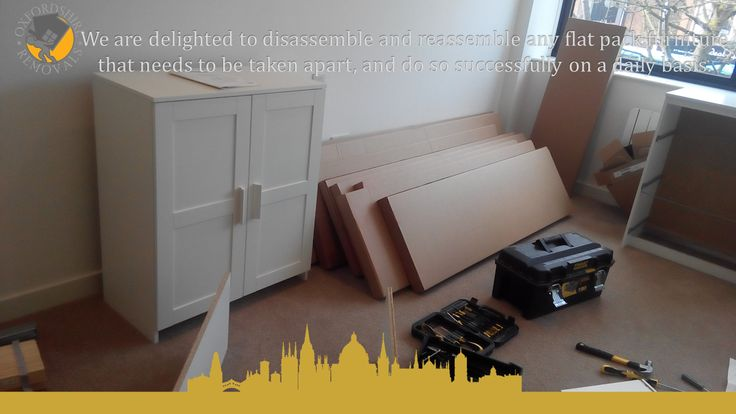 Professional Flat Pack Furniture Assembly Service in Oxford