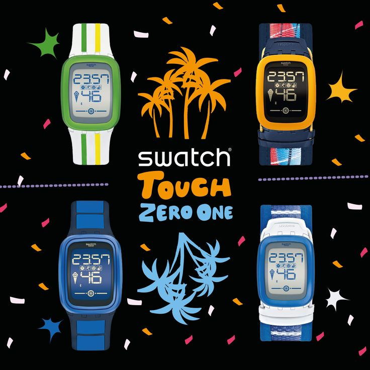 Adım sayar, alkış ölçer, plaj voleybolu arkadaşı, motivasyonunu arttıracak bir koç ve tabii ki bir Swatch! #SwatchTouchZero'ya dokun, eğlence başlasın! Swach, #Terracity Zemin Katta.
