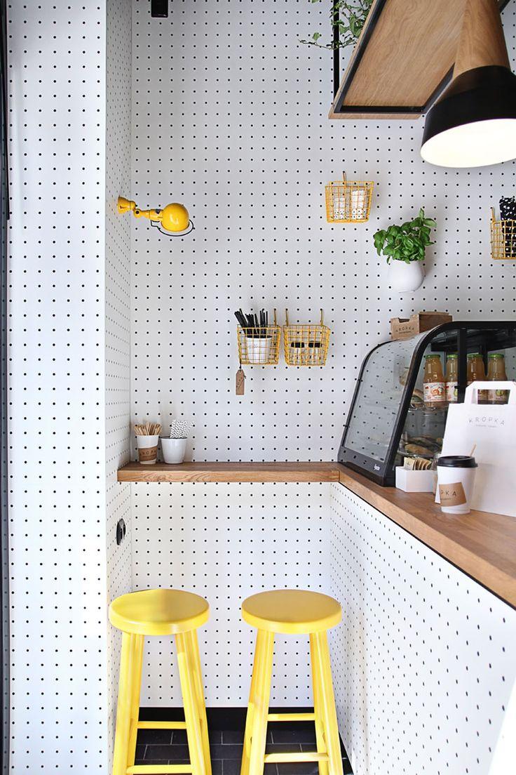 Un snack-bar de 11,5m²   MilK decoration
