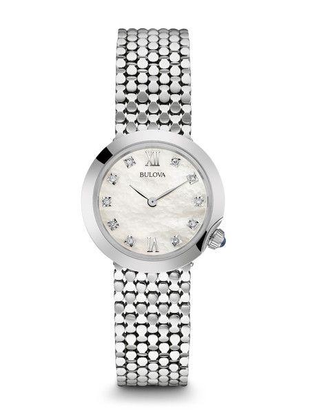 Bulova 96P163 Women's Diamond Watch   Bulova