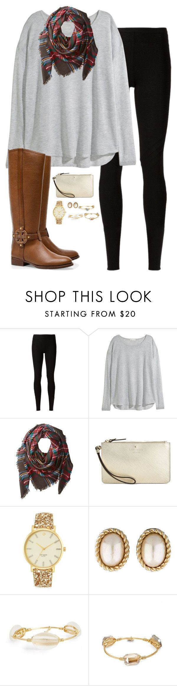 """Thanksgiving is in 12 days"" by sc-prep-girl ❤️ liked on Polyvore featuring Rick Owens Lilies, H&M, Buji Baja, Tory Burch, Kate Spade, Christian Dior and Bourbon and Boweties"