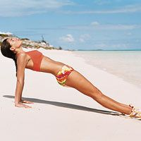 The 20-Minute Pilates Workout: 4 Weeks to a Bikini Body: 5. Front Plank/Back Support