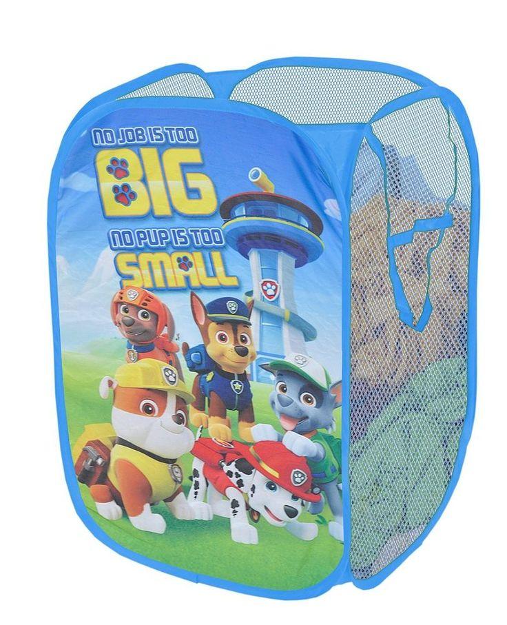Nickelodeon Toy Chests Storage Paw Patrol Pop Up Hamper Toy Box Kids Room Gadget #PawPatrol